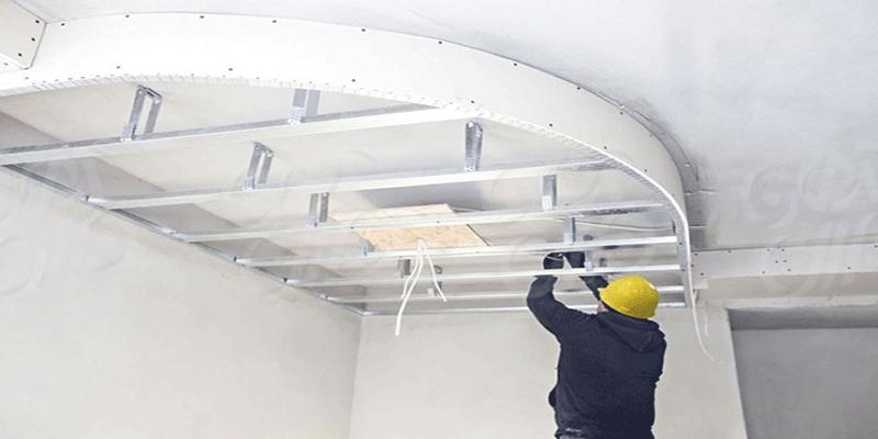 تفاوت سقف کاذب کناف با سقف رابیتس