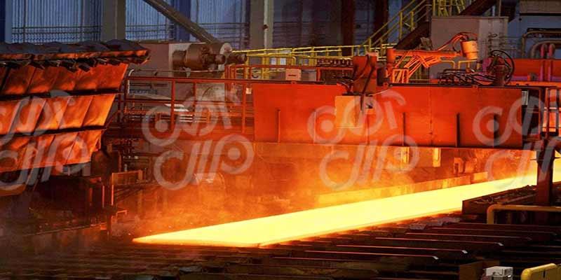 اجزای مورد استفاده در کارخانه نورد گرم