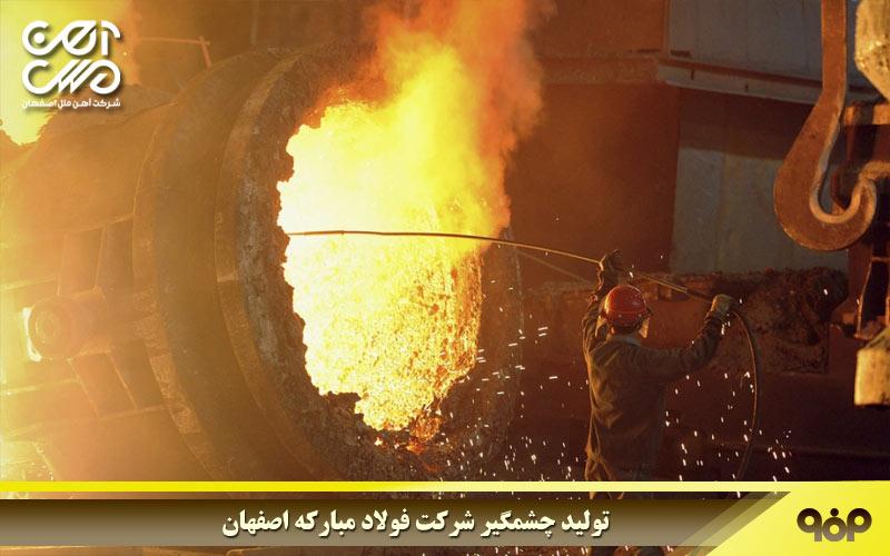 بهبود قابل توجه شرکت فولاد مبارکه