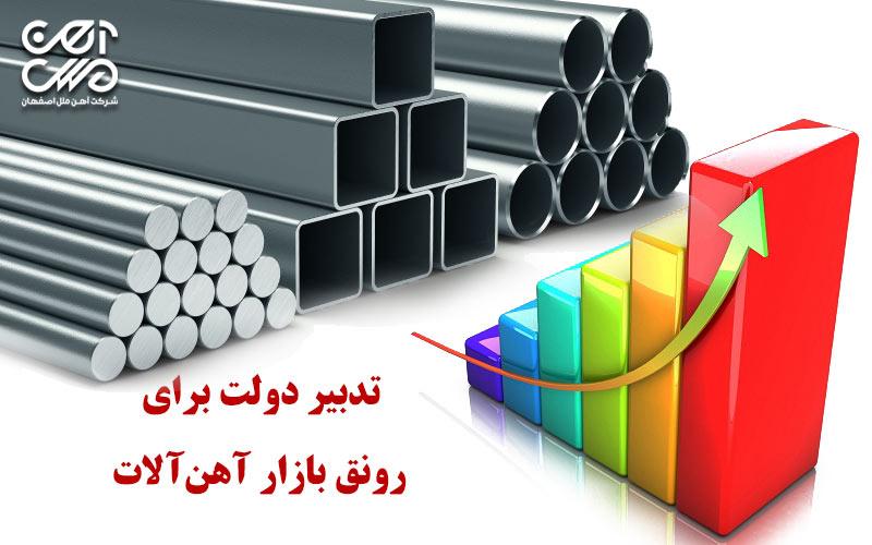 تدبیر دولت برای رونق بازار آهن آلات