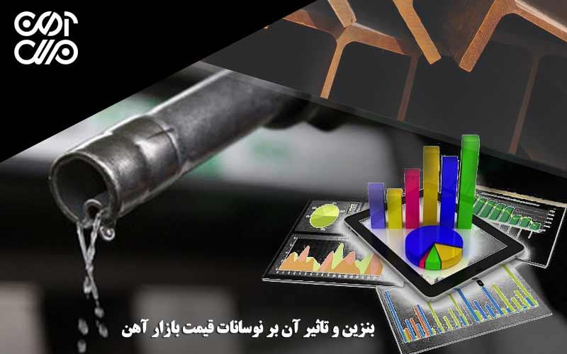 بنزین و تاثیر آن بر نوسانات قیمت آهن در بازار