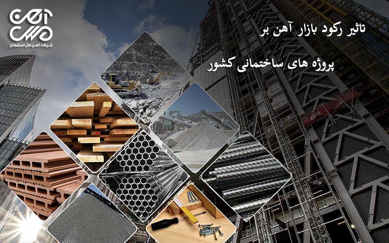 تاثیر رکود بازار بر پروژه های ساختمانی
