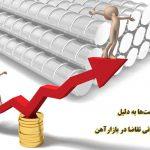 افزایش قیمتها به دلیل هجوم هیجانی تقاضا در بازار آهن