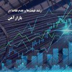 رشد قیمتها و عدم تقاضا در بازار آهن