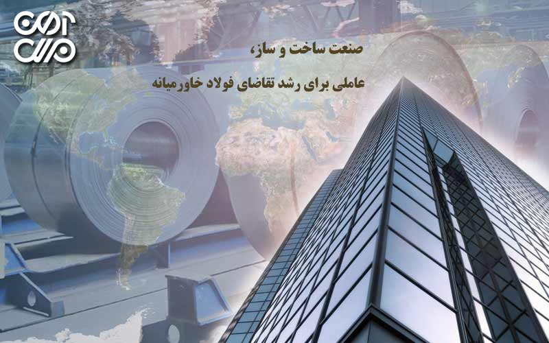 صنعت ساخت و ساز , عاملی برای رشد تقاضای فولاد خاورمیانه