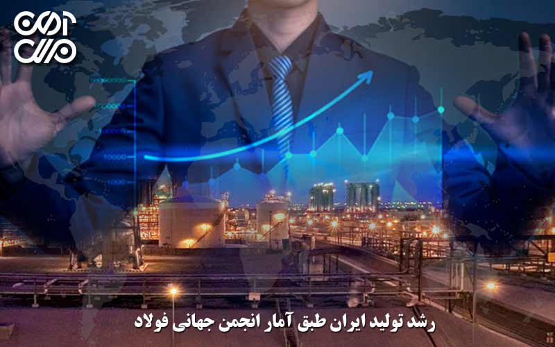 رشد تولید ایران طبق آمار انجمن جهانی فولاد
