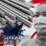 بازارهای میلگرد چین متاثر از ویروس کرونا
