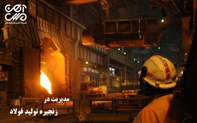 مدیریت در زنجیره تولید فولاد