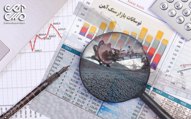 نوسانات بازار سنگ آهن
