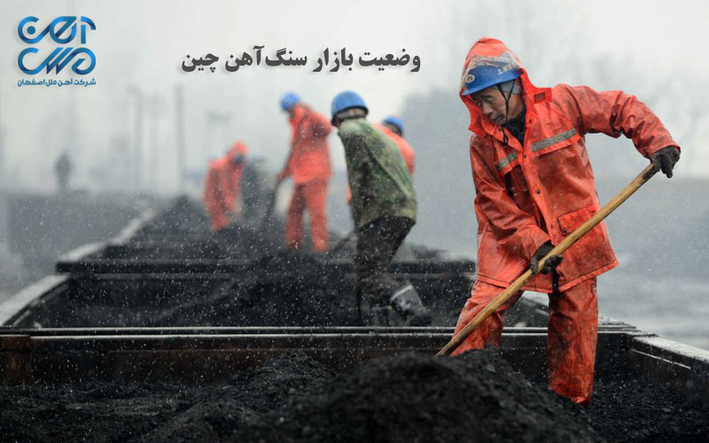 وضعیت بازار سنگ آهن چین - آهن ملل اصفهان
