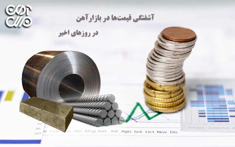 آشفتگی قیمتها در بازار آهن در این روزهای اخیر
