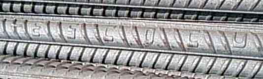علامت اختصاری  میلگرد ذوب آهن اصفهان