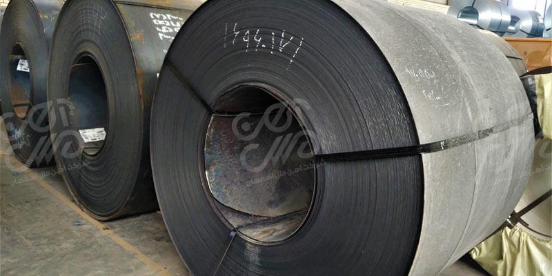 ورق سیاه یا ورق گرم و نحوه تولید آن در کارخانه جات