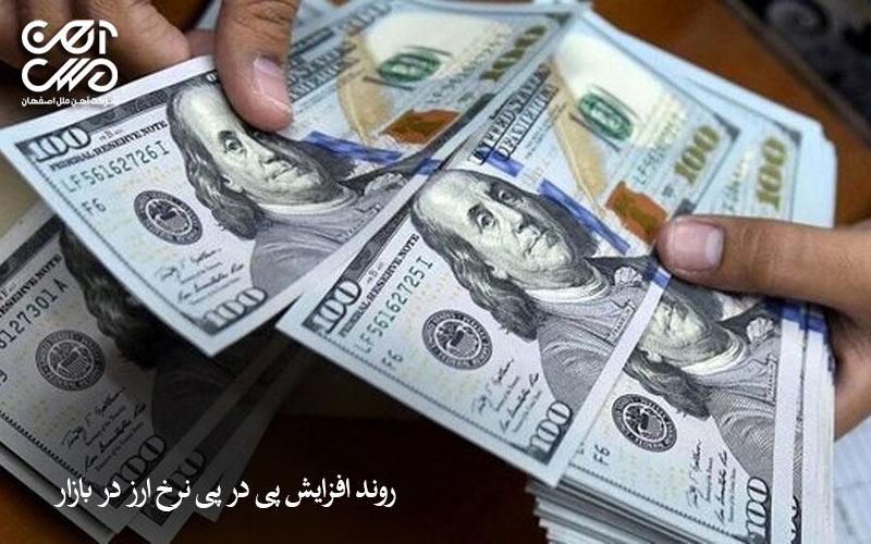 رشد نرخ ارز