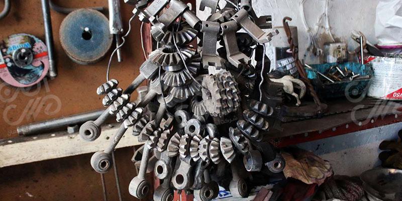 ضایعات آهنی در هنر