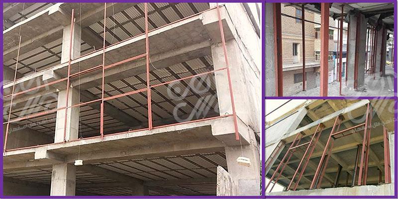 آهن کشی نمای ساختمان