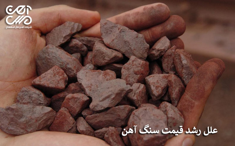 علل رشد قیمت سنگ آهن